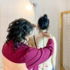 What is the prevention of scoliosis at home? Posture check for 1 minute